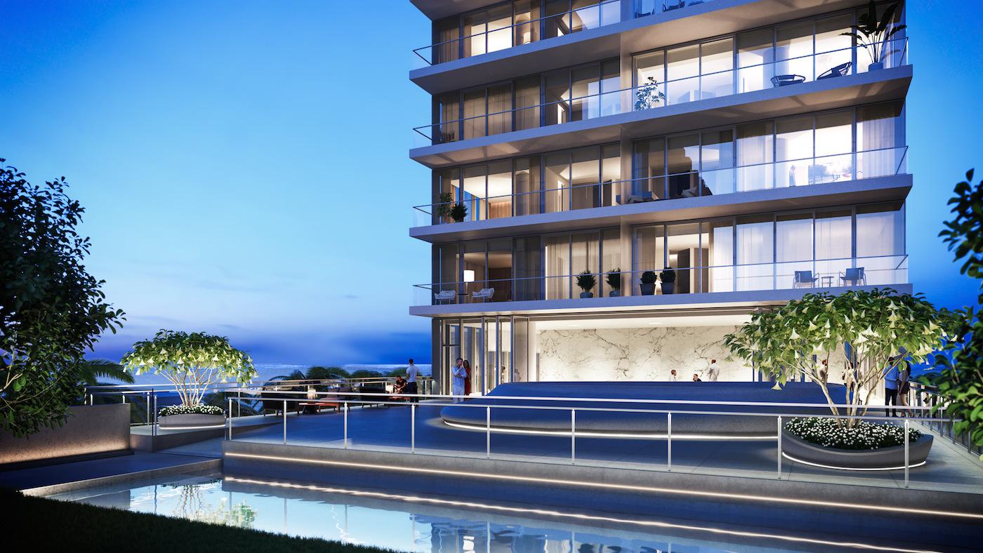 2000 Ocean sculpture garden and residence function room