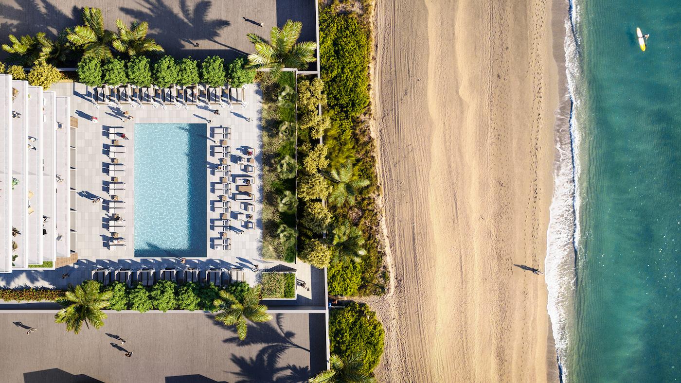 2000 Ocean aerial view