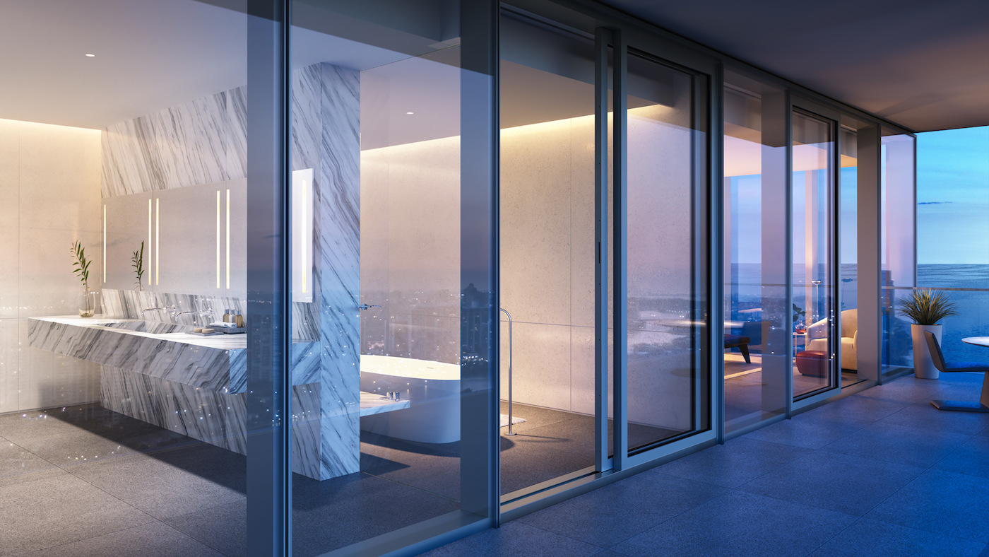 2000 Ocean suite master bathroom