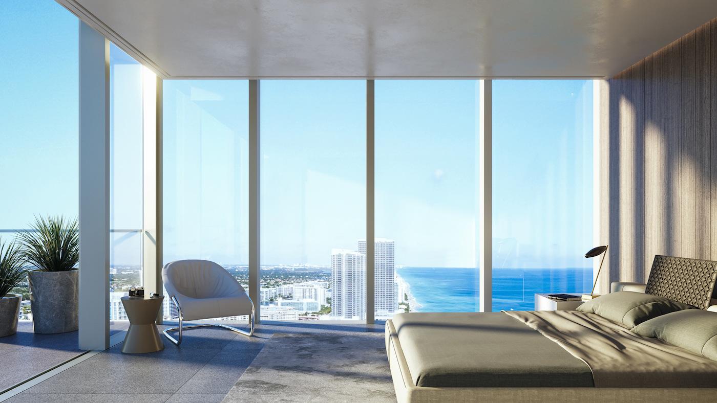 2000 Ocean suite master bedroom