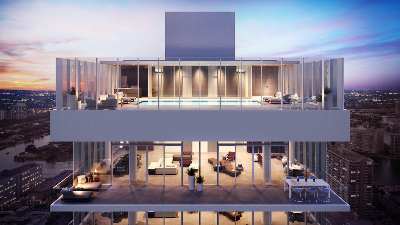 2000 Ocean penthouses