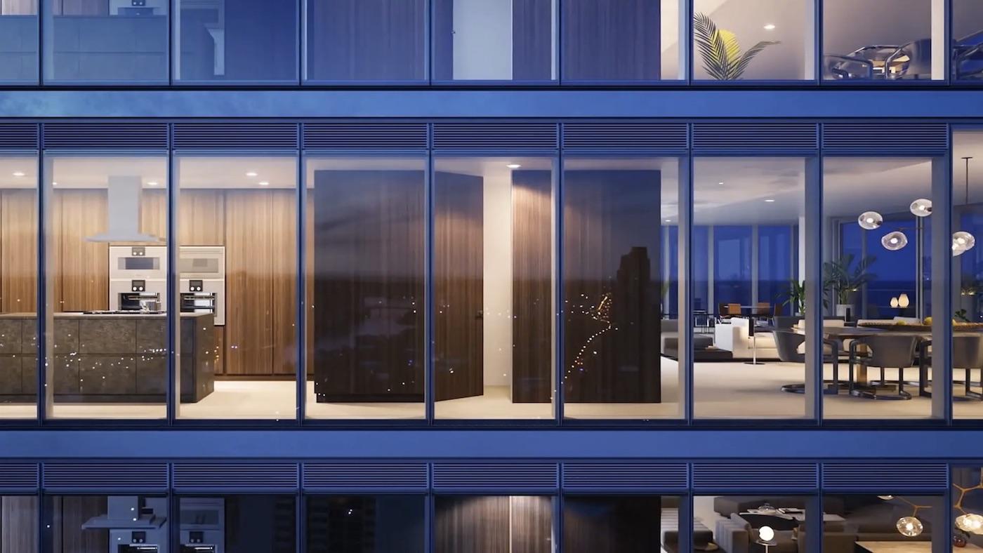 2000 Ocean suite floor to ceiling windows